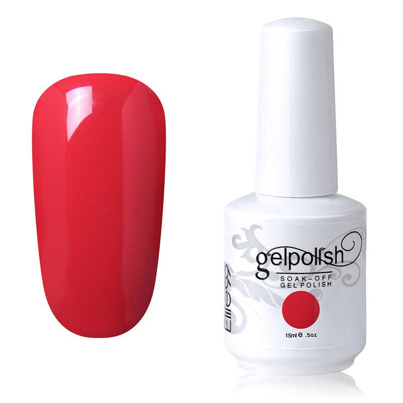 Elite99 Vernis A Ongles Semi Permanent Gel Polish UV LED Nail Art Manucure 15ml 9