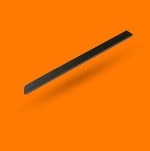 Schürfleiste für Schneepflug Schneeschild Gummi 1250x80x15mm
