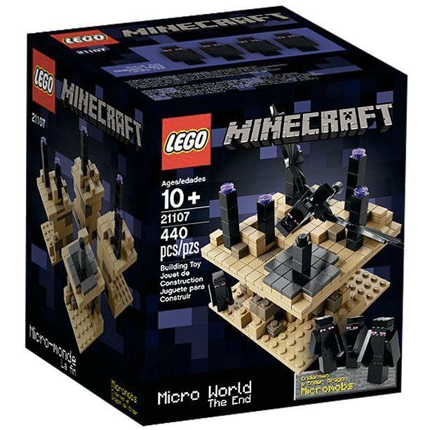 LEGO ® Minecraft ™ 21107 MICRO WORLD-la fine nuovo _ THE END NEW