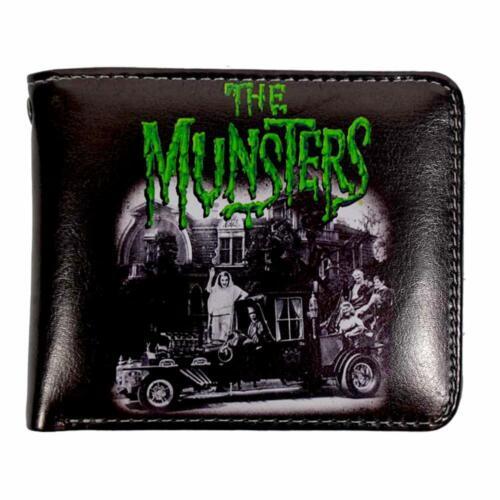 The Munsters Family Coach Rock Rebel Men/'s Billfold Wallet