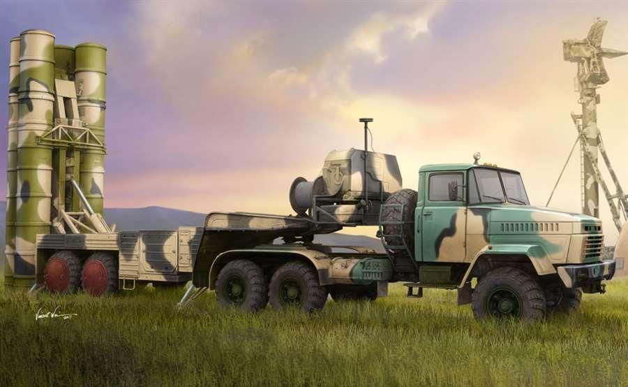 Hobby Boss HobbyBoss 1 35 Russian KrAZ-260B Tractor  New release