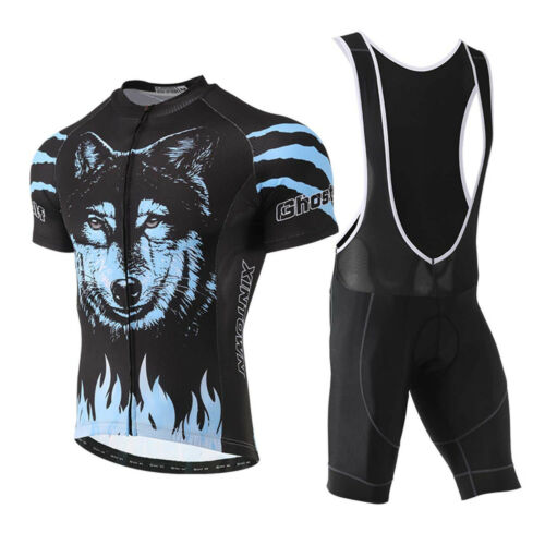 2018 Cycling Bike Clothing set Short Sleeve Bicycle Jersey Shirt Top XR1015