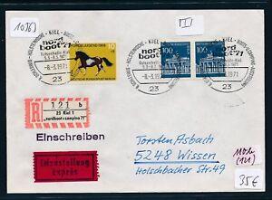 10563) Spécial R-ticket De Kiel Nordboot... 8.3.71 Paire 100pf Porte De Brandebourg Reprise-afficher Le Titre D'origine