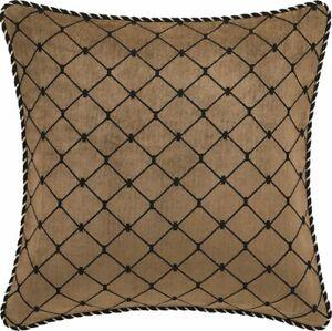 Davinci Massimo Trellis European Pillowcase Gold