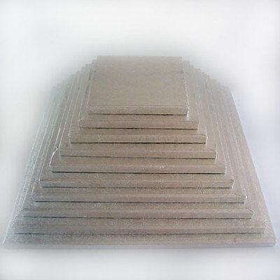 FunCakes Cake Drum Square / eckig °°  Größenwahl : 15 - 40 cm °° Höhe 10 mm