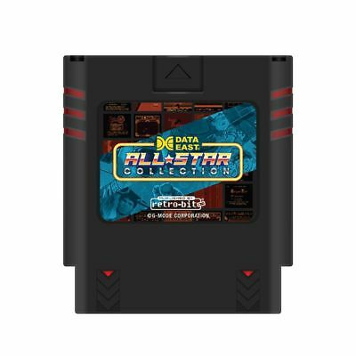 Retro-Bit Data East All Star Collection Multi-Cart for Nintendo SNES