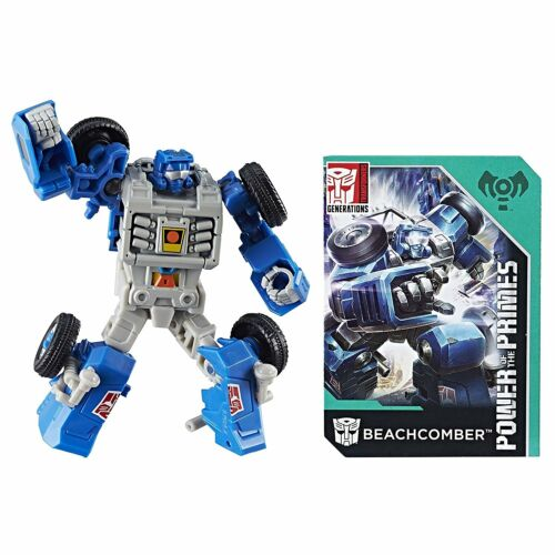 TRANSFORMERS GENERATIONS POWER OF THE PRIMES LEGENDS BEACHCOMBER ACTION FIGURE