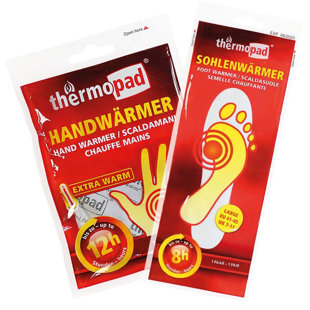 Thermopad chaleur Combi set 5x compresse compresse compresse 5x semelles plus chaud 7a6b72