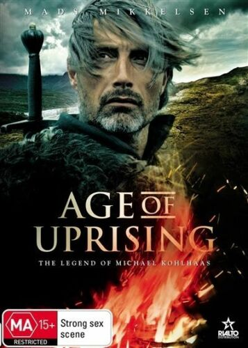 1 of 1 - Age Of Uprising - The Legend Of Michael Kohlhaas (DVD, 2014)