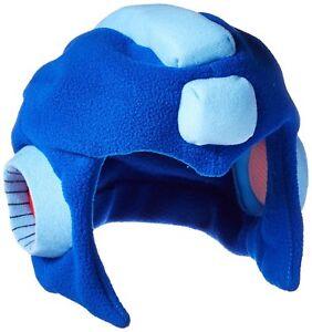 Legit-Megaman-Mega-Man-Authentic-Fleece-Helmet-Cosplay-Headwear-Cap-Hat-8187