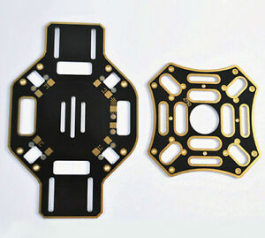 Details about F450 RC Quadcopter 4 Axis Frame Kit Top Bottom Central Plate  PCB PDB fr DJI 450