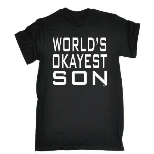 Divertido Novedad T-Shirt Tee tshirt de hombre-Mundos Okayest son