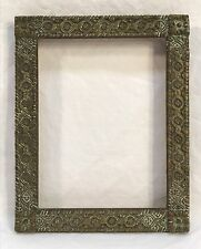 Antique Late 19th Century Small Aesthetic Movement Frame 4 3/4 x 6 1/4 Opening