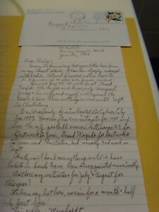 Two Munchkin Letters Meinhardt Raabe Coroner Karl Slover Trumpeter Deceased Sale