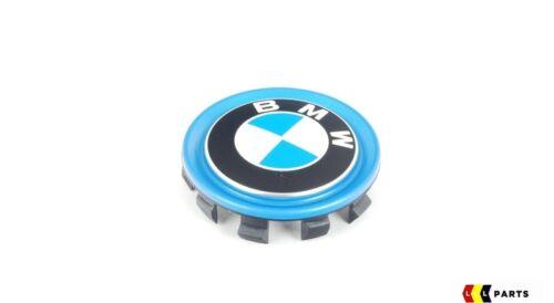 BMW NUOVO ORIGINALE i3 i8 i01 i12 series TAPPO CENTRALE RUOTA HUB COVER Set di quattro