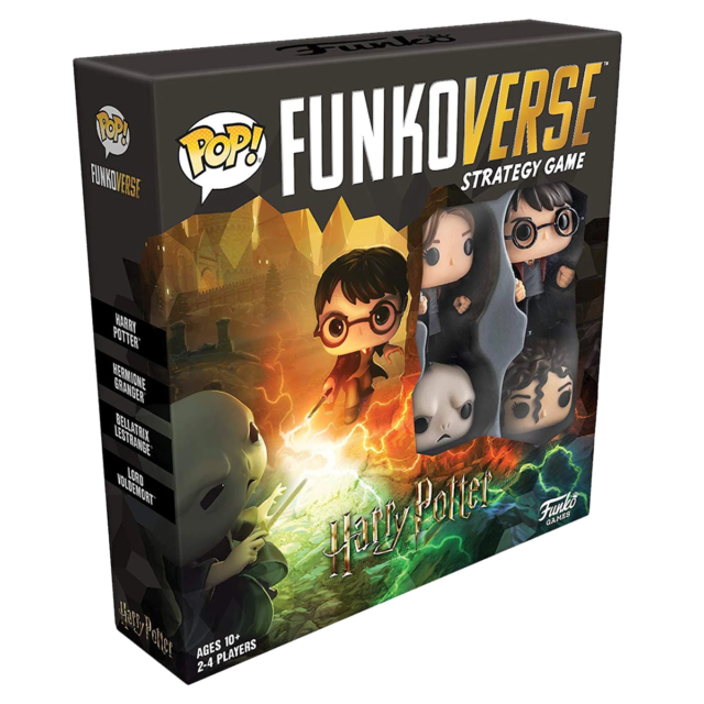 Funkoverse Harry Potter 100 4 pack Strategy Board Game