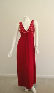 good-condition-Charlie-Brown-size-8-10-maxi-dress-cocktail-wedding