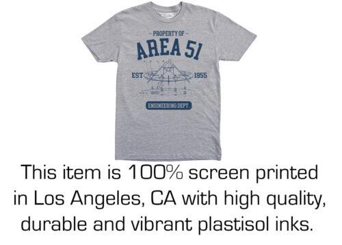 Engineer Engineering department Alien Property of Area 51 t-shirt UFO Space
