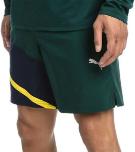 Details about Puma Ignite Woven 7 Inch Mens Training Shorts Green