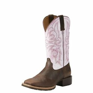 10021619 Ariat Damens's Hybrid Rancher Square Toe Cowgirl Cowgirl Toe Stiefel a6af89