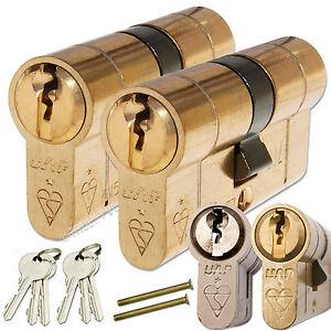 UAP-ANTI-SNAP-KEYED-ALIKE-EURO-CYLINDER-DOOR-LOCK-PAIR-BREAK-SECURE-SNAP-SAFE