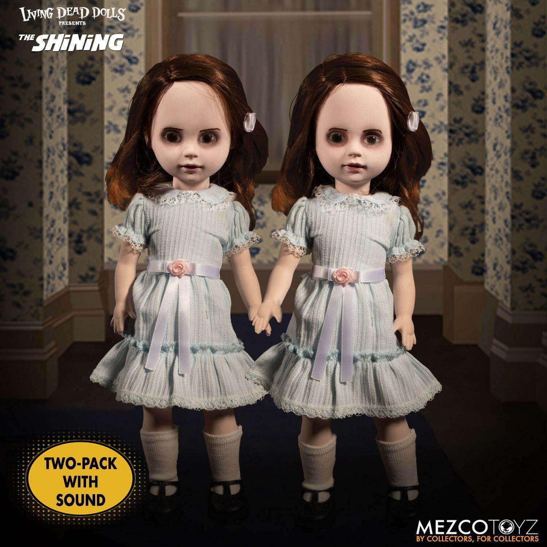 Living Dead Dolls The Shining  Talking Grady Twins From Mezco