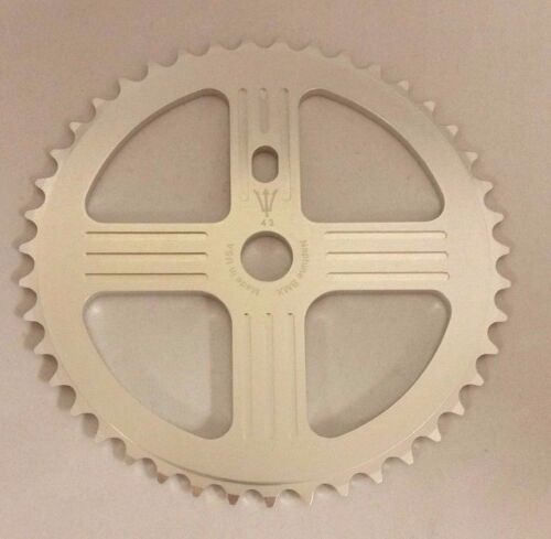 NEPTUNE BMX 39 tooth HELM Sprocket SILVER Gear for 19mm spindles Made in USA!
