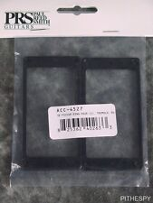BLACK PLASTIC NEW PRS Straight Pickup Rings For Tremolo Equipped SE Guitars