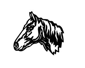 Horse Airbrush Schablone Stencil 3098 Pferd