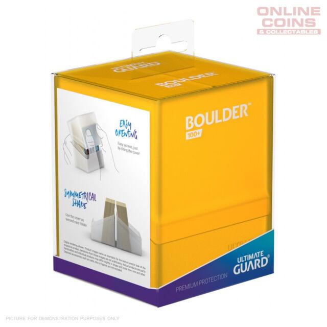 Ultimate Guard Boulder 100+ Standard Size Amber Deckbox