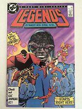 Legends #1 first appearance Amanda Waller Suicide Squad 1986 Darkseid