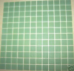 frosted glass tile mosaic kitchen bathroom wall: green | ebay