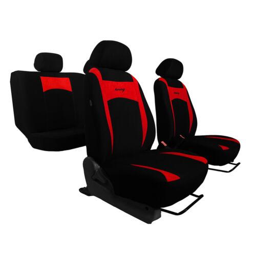 Universal fundas para asientos para mazda 2 II rojo asiento del coche ya referencia referencias set referencia auto
