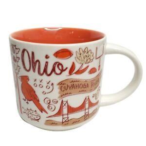 Starbucks Been There Ohio Coffee Mug 14 Oz Collector Series 2018 Cuyahoga River