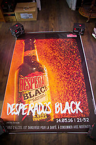 Desperados 21h52 4x6 Ft Bus Shelter Original Alcohol Beer Advertising Poster Ebay