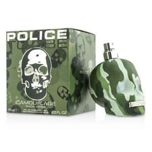 Police-To-Be-Camouflage-Special-Edition-Eau-De-Toilette-New-in-Box-75ml-2-5oz