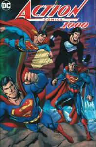 ACTION COMICS #1000 VARIANT deutsch  DAN JURGENS  lim.555 Ex.  LEIPZIG Superman