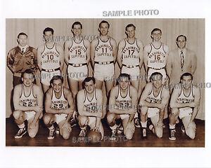 1948-49 WASHINGTON CAPITOLS BA...