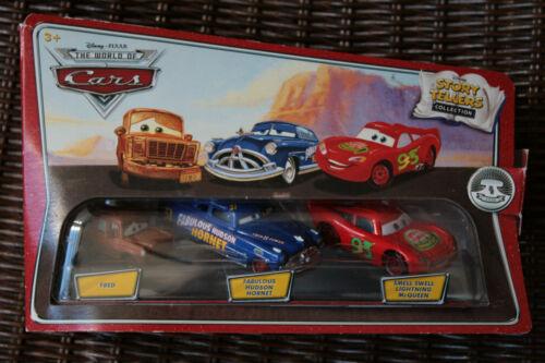 Disney Pixar Cars Storytellers Flo Rusty Doc Hudson Brand New Mater Ramone