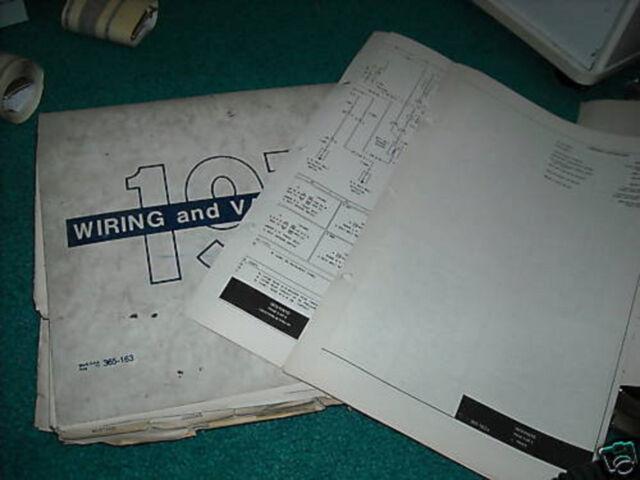 1973 Lincoln Mark Iv Wiring Diagrams Manual Sheets Set