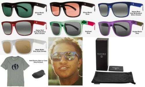 NEW Electric Mainstay Ohm Melanin Lens Square Mens Sunglasses Msrp$100