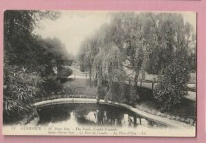 Channel Islands, Guernsey, St Peter port - The ponds, LL Louis Levy, No.74.
