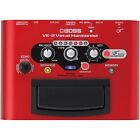 Boss VE2 Harmonist Guitar Effect Pedal - Red