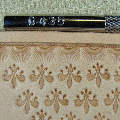 Steel Craft Japan #D435 Crescent Border Stamp Leather Stamping Tool