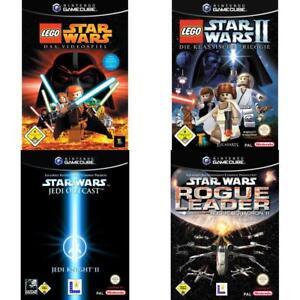 Nintendo-GameCube-Best-of-Star-Wars-Spiele-Zustand-auswahlbar