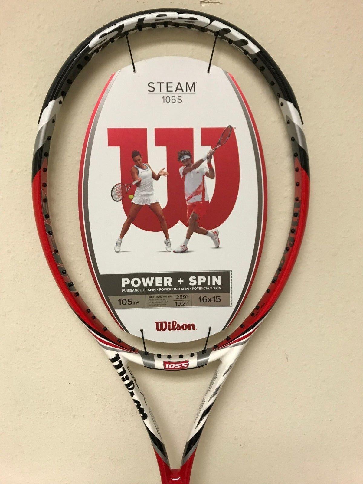 Wilson Steam 105S Tennis Racquet Grip Size 4 3/8