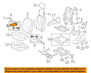 TOYOTA 72830-08010-B5 Seat Armrest Assembly