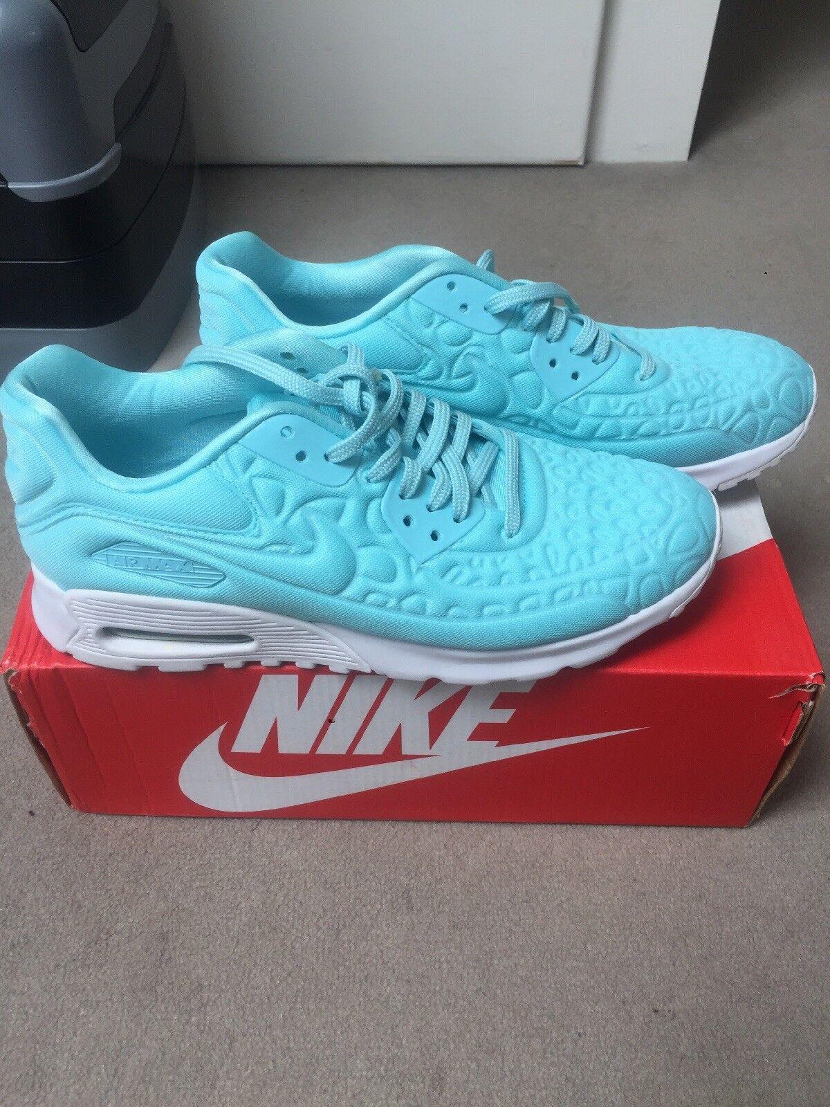 Nike AIR MAX ULTRA PUSH tourqoise Blu Tg