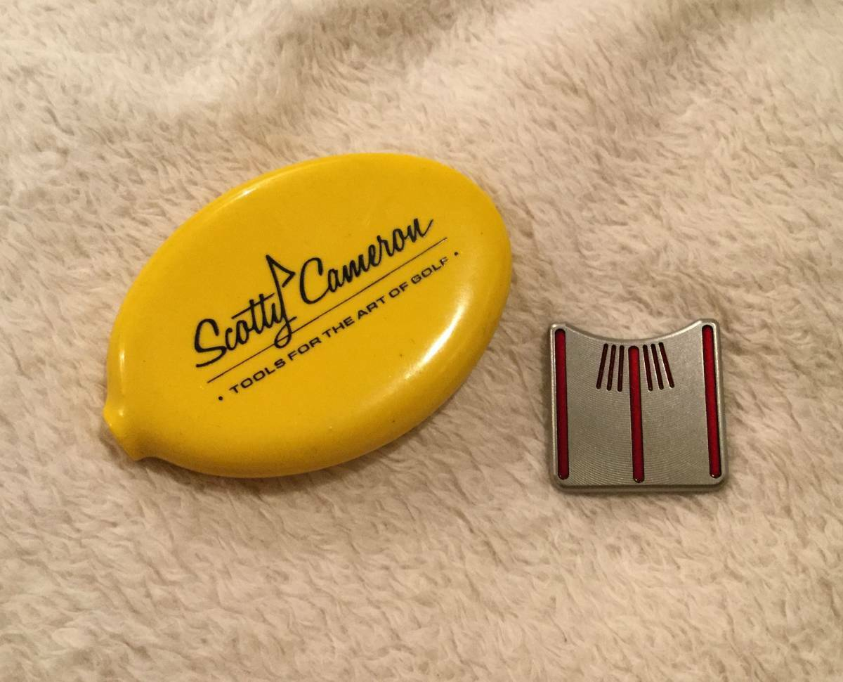 Scotty Cameron Circle T coin case and marker Rare NEW F S