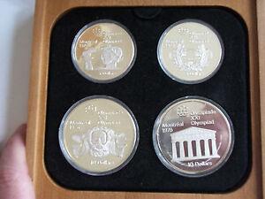 1976-Canada-Olympic-proof-set-40-925-silver-box-COA-coin